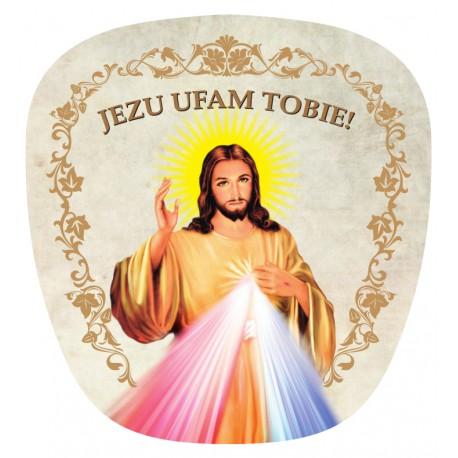 Wachlarz  z Jezusem Miłosiernym
