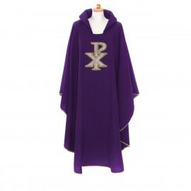 Ornat fioletowy  Krzyż