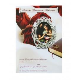 Dyplom - Pamiątka Sakramentu Małżeństwa