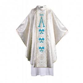 Ornat platyna Maryjny AVE - catedral