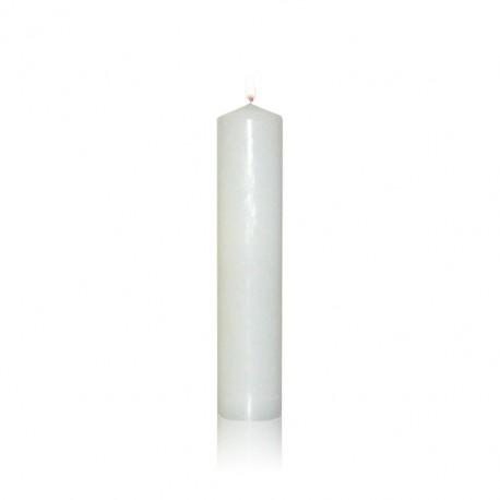 Świeca ołtarzowa biała
