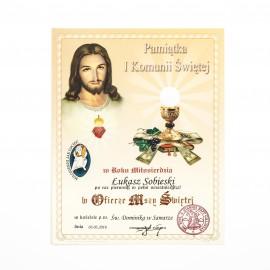 Obrazek do Pierwszej Komunii Świętej