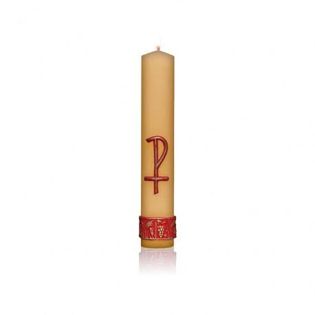 Świeca ołtarzowa z aplikacją woskową PX