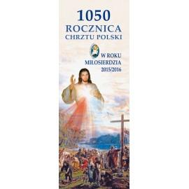 Baner CHRZEST POLSKI 966-2016