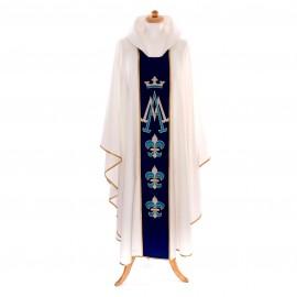 Ornat biały Maryjny