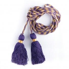 Cingulum - kolor: fiolet+złoty