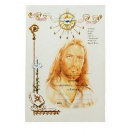 Dyplom - Pamiątka Sakramentu Umocnienia w Kościele
