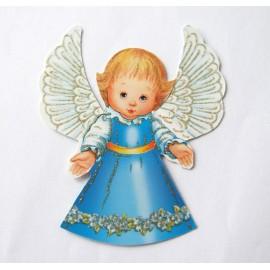 Aniołek zawieszka papierowa