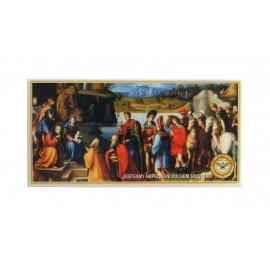 Obrazki kolędowe duże 100 sztuk - różne obrazki