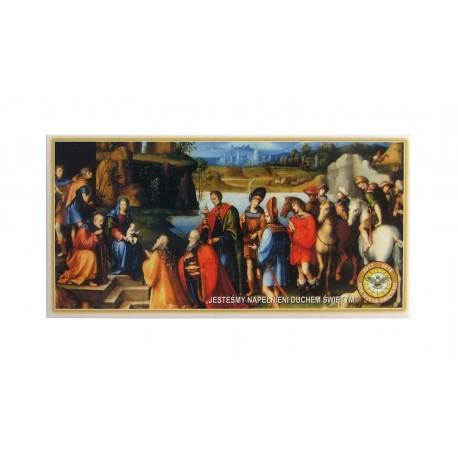 Obrazki kolędowe 100 sztuk - różne obrazki