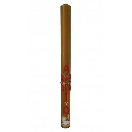 Paschał - Baranek w aureoli, Krzyż św. Łazarza (trójlistny) 2,5 kg
