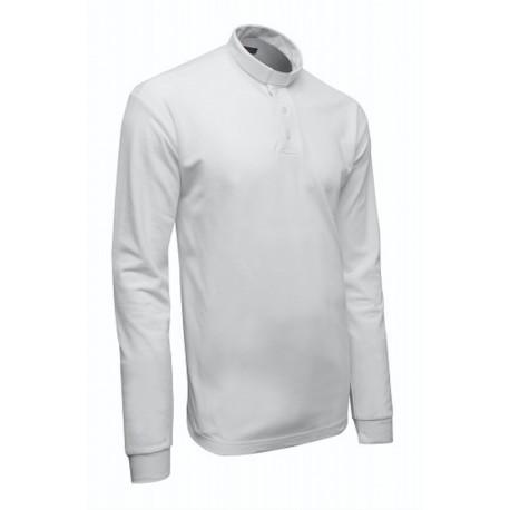 Koszula kapłańska POLO biała